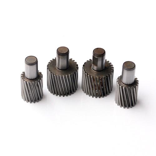 精密数控铣削金属零件的齿轮