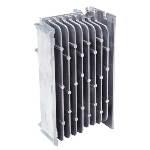 精密压铸金属零件散热片散热器驱动和控制器